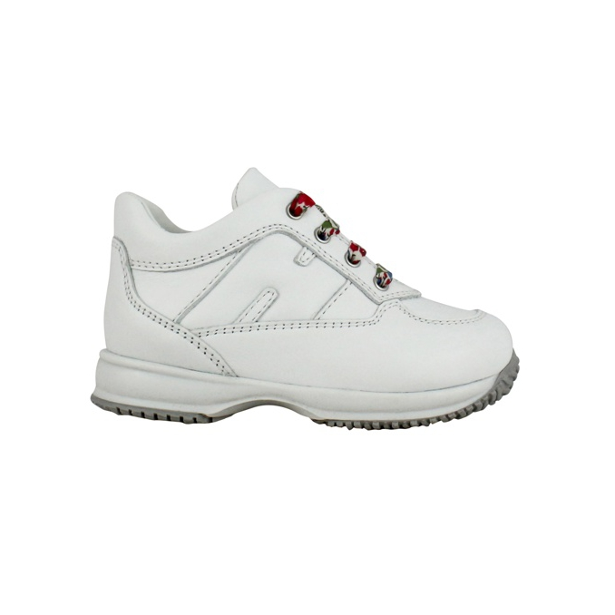 Sneakers with contrast laces White Hogan