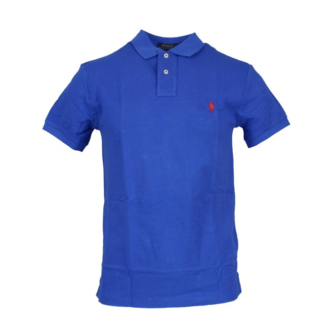 Polo 2 bottoni cotone slim fit Royal Polo Ralph Lauren