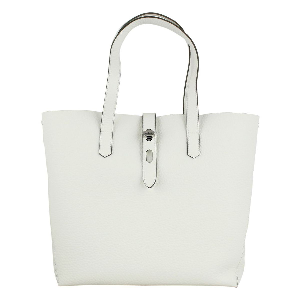0898ee5132e Large shopping bag in leather Butter, Hogan kbw010a1400kbc ...