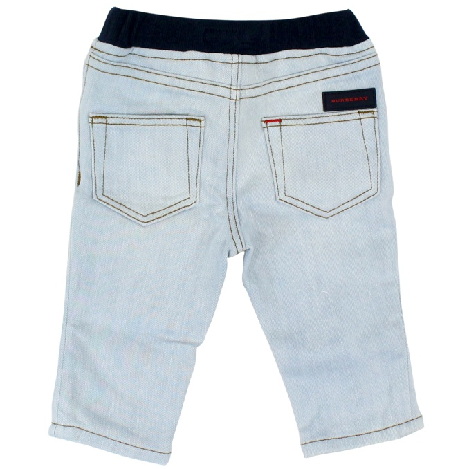 Jeans Pull On Denim chiaro Burberry