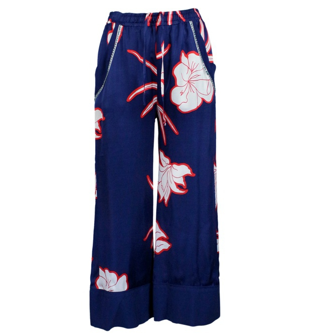 33f609cc5b Slimming Pants Blue / red, Pinko 1g13wd 7329 - CapoSerio.com