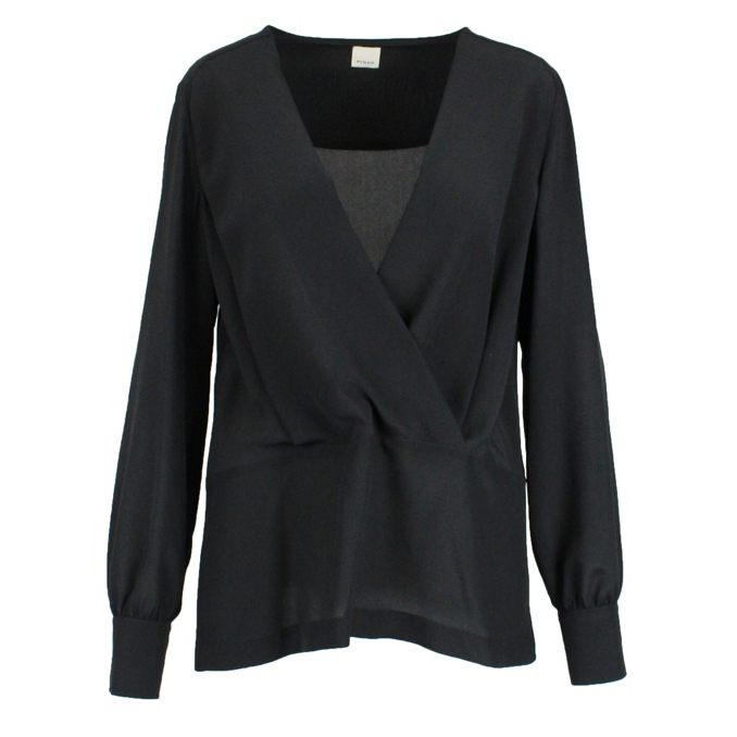 Read Blouse 1 Black Pinko