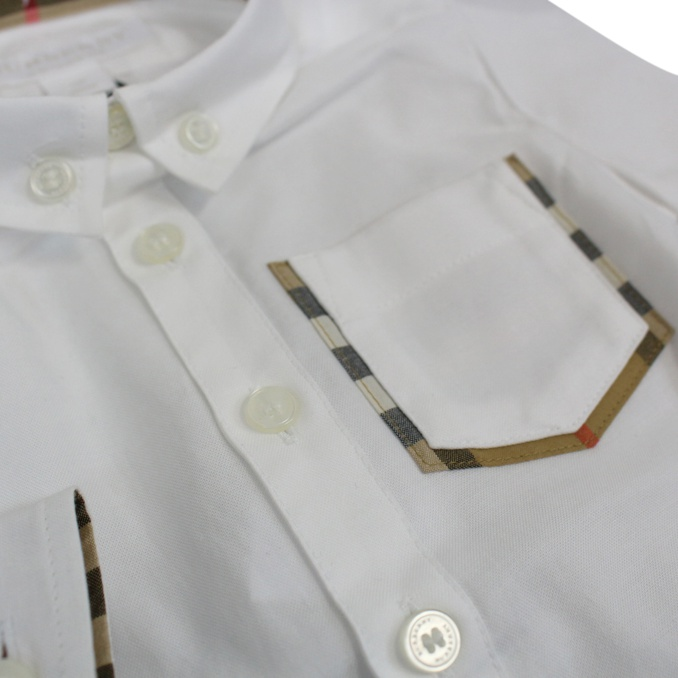 Camicia Harry Bianco Burberry
