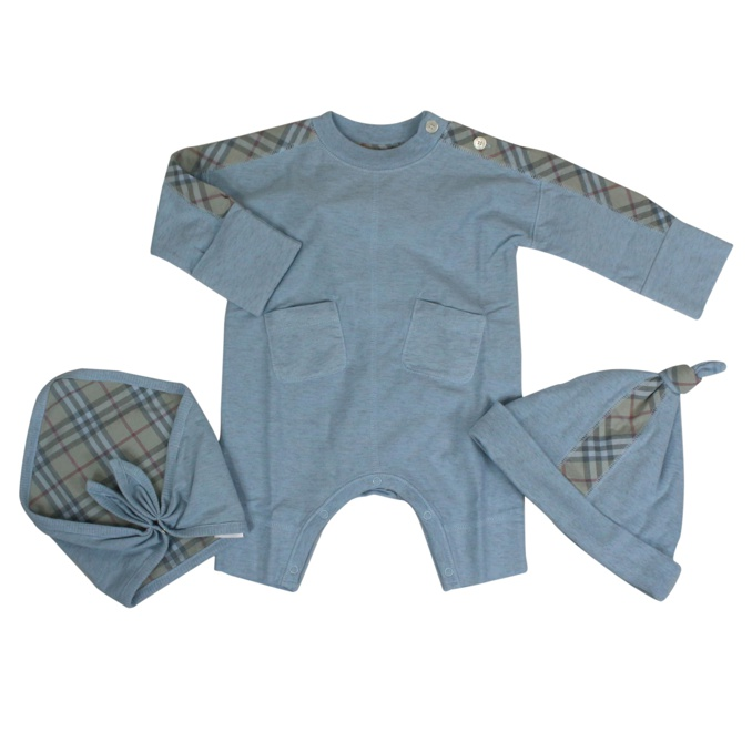 Colby set with check pattern Heavenly Burberry