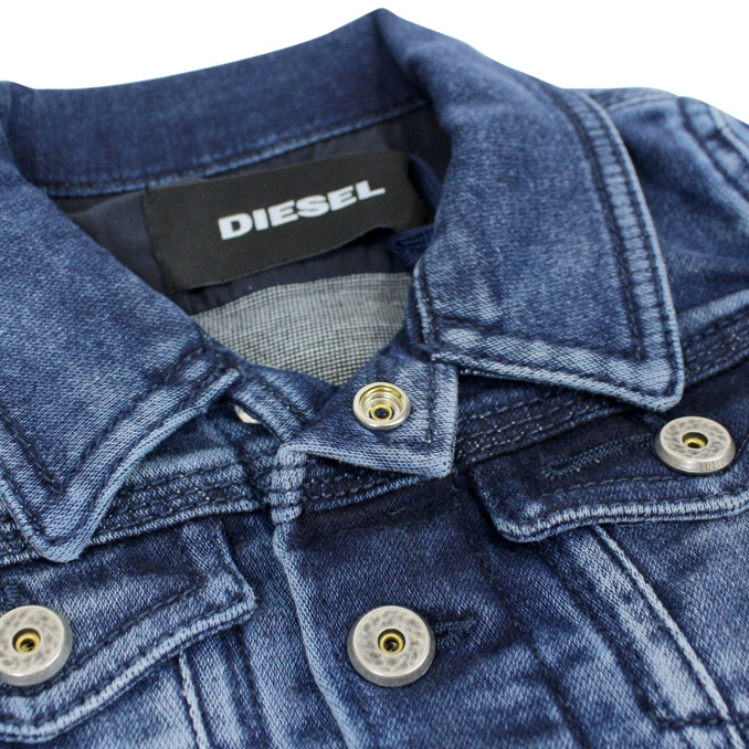 Giubbotto in denim Jaffy Denim medio DIESEL