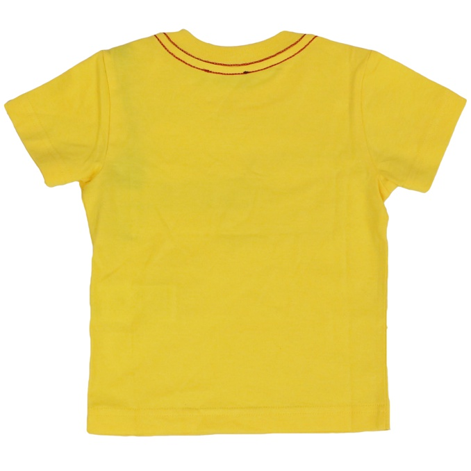 Toqueb cotton t-shirt Yellow DIESEL