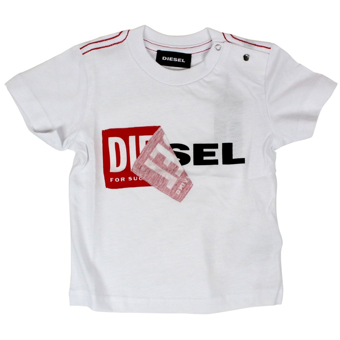 Toqueb cotton t-shirt White DIESEL