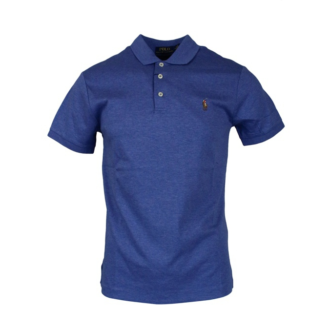 Polo slim fit in cotone pima Royal Polo Ralph Lauren