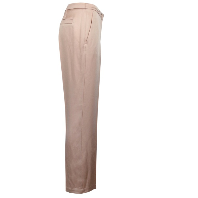 Satin trousers with pleats Nude Twin-Set