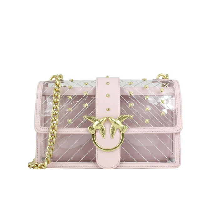 Love Plastic chain shoulder bag Rose Pinko 5b58fbd9dd4