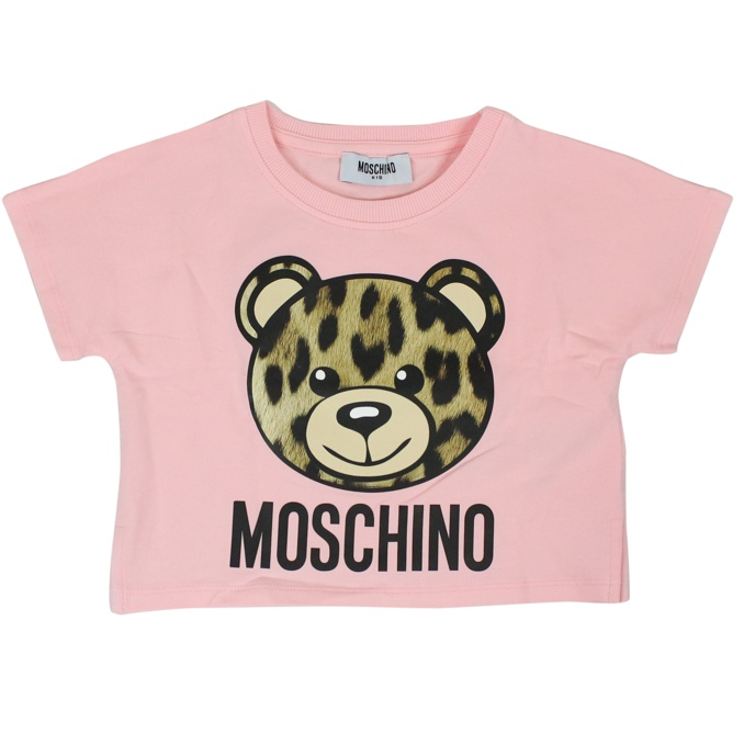 Spotted bear print t-shirt Rose MOSCHINO