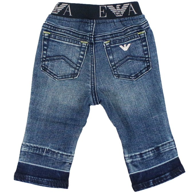 Jeans with elastic waistband Denim Emporio Armani