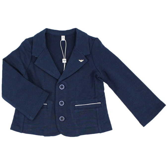 Knitted jacket Blue EMPORIO ARMANI