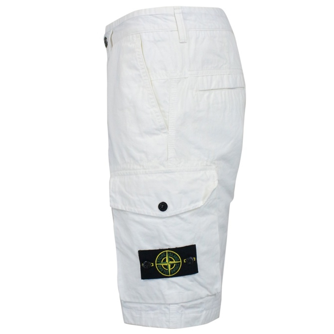 Cargo with pockets White Stone Island