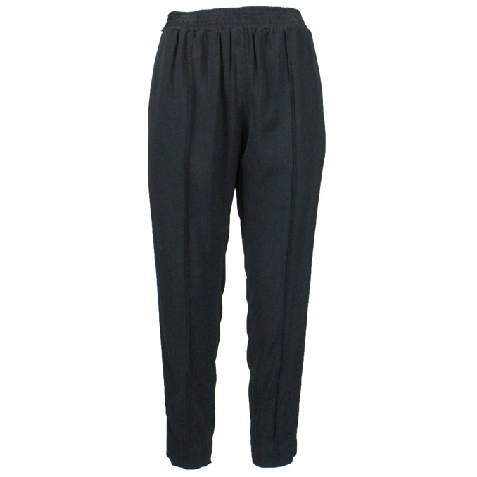 Trousers with side band Black Twin-Set