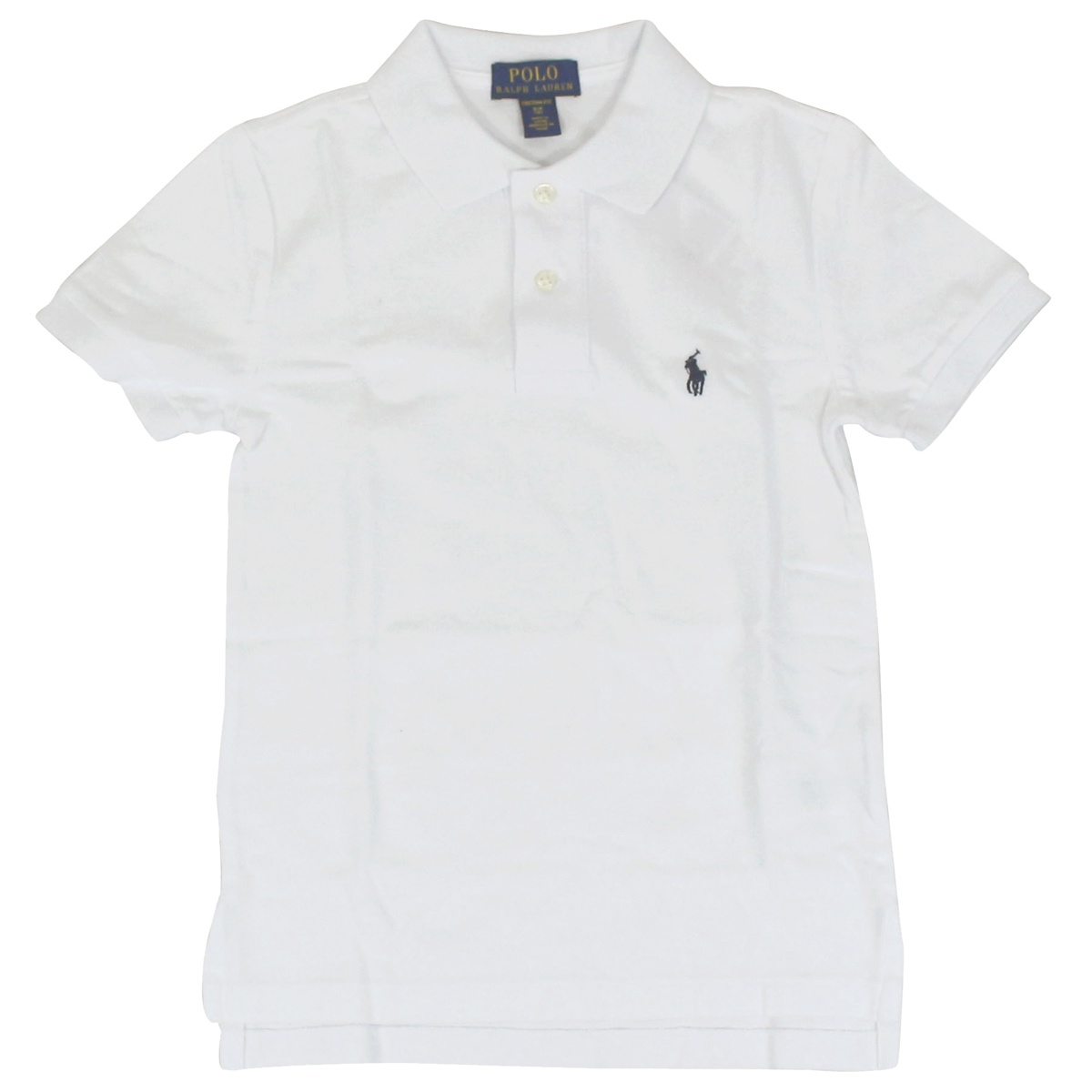 2 button cotton polo shirt White Polo Ralph Lauren