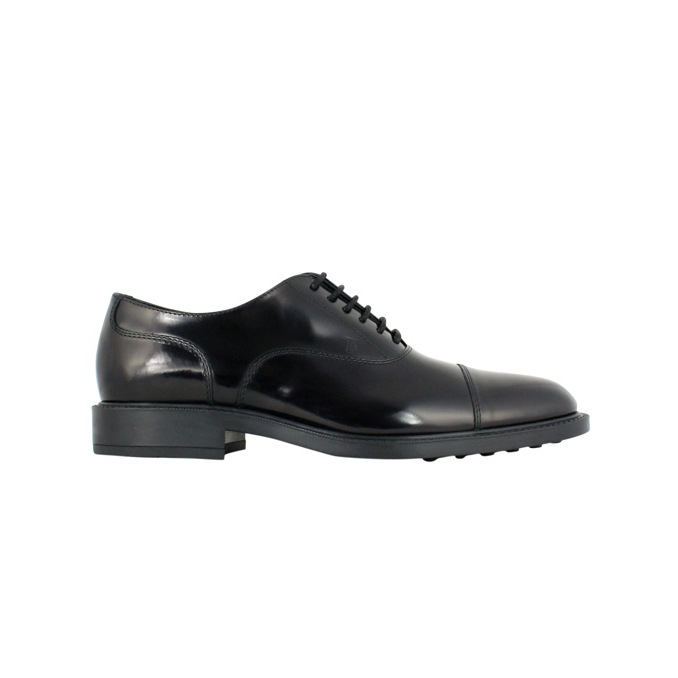 Rubber bottom lace-up Black Tod's