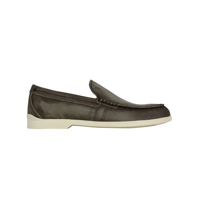 Casual smooth slipper Brown Tod's