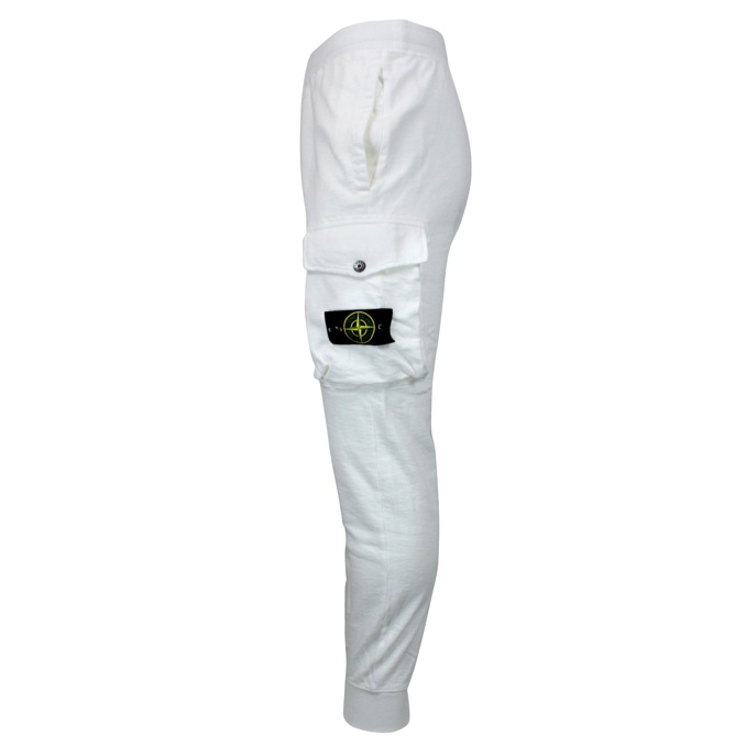 Suit trousers with pocket White Stone Island