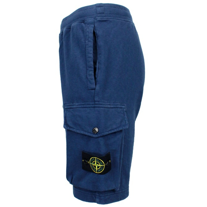 Short suit with pocket Blue Stone Island