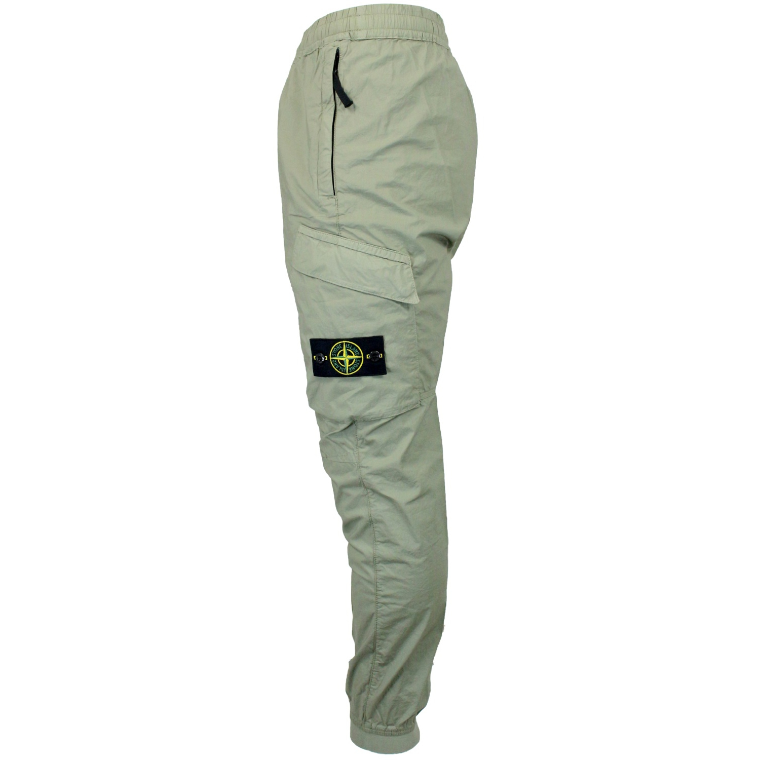 620319e7 Pants in stretch cotton and pocket Sage, Stone Island 532203 ...