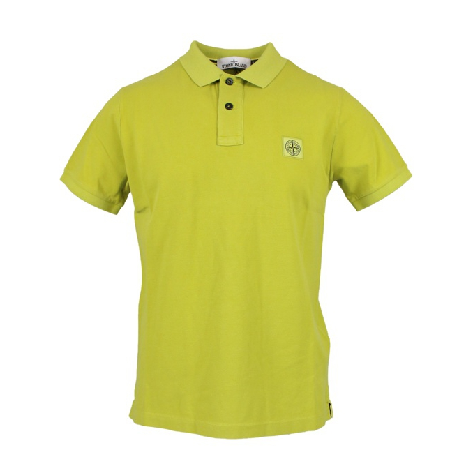 Polo 2 buttons with logo Wheat Stone Island