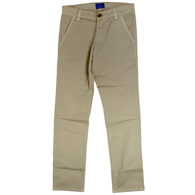 Stretch trousers with america pockets Beige Fay