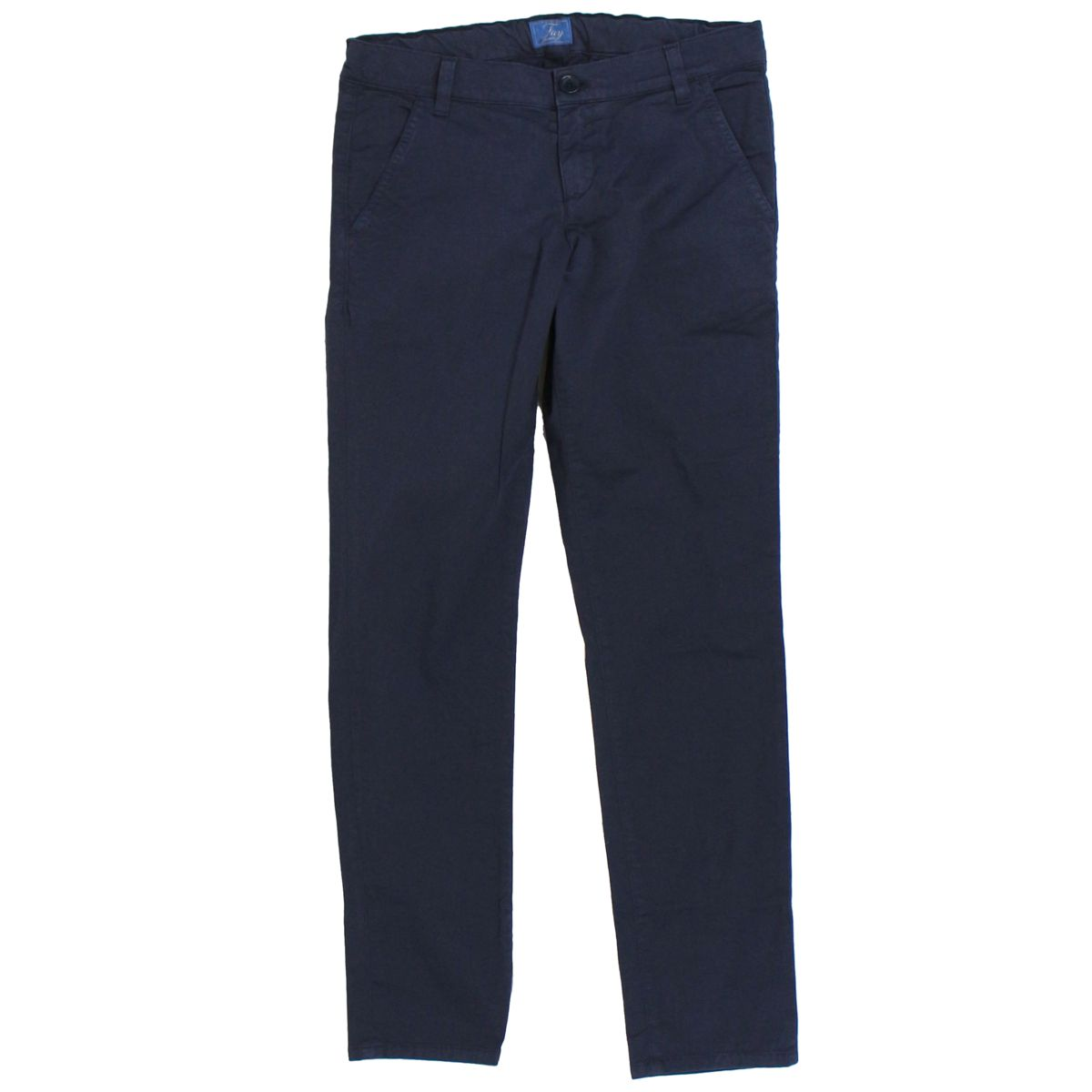 Stretch trousers with america pockets Blue Fay