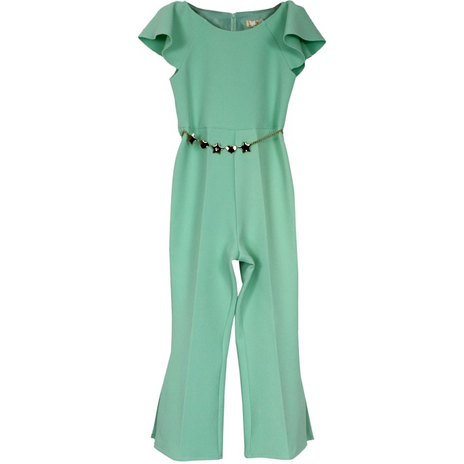 Suit with metal chain Green water Elisabetta Franchi