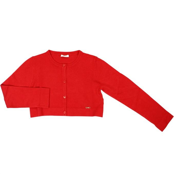 Cardigan with solid buttons Red Liu Jo