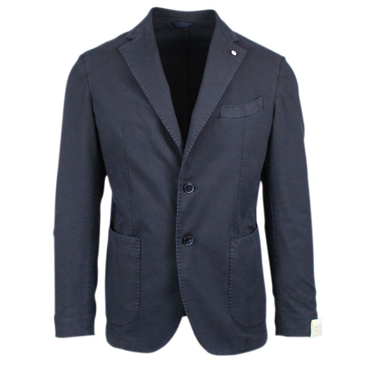 Single-breasted two-button jacket Navy L.B.M. 1911
