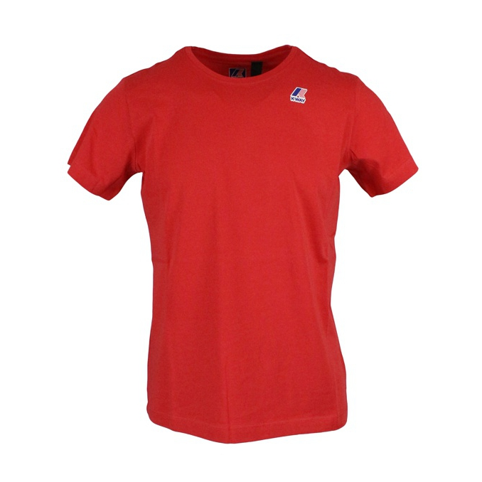 Le vrai edouard t-shirt Red K-Way