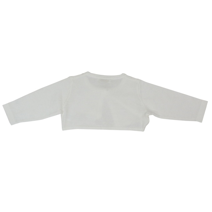 Cotton shrug with button White LIU JO