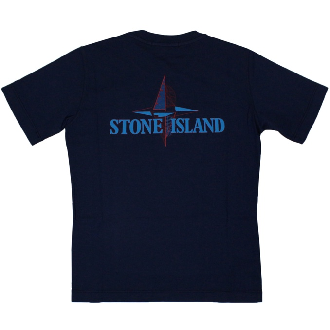Front and back print T-shirt Ink Stone Island