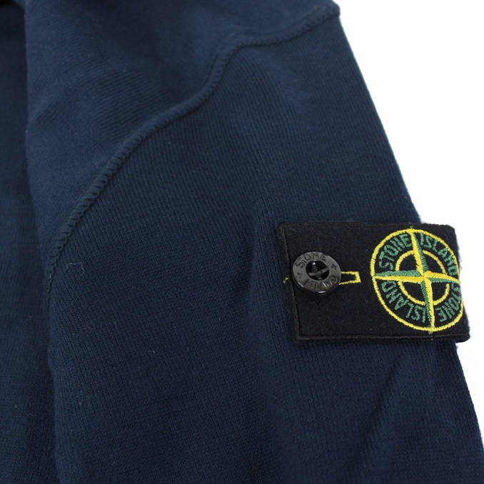 Full zip shirt Blue Stone Island