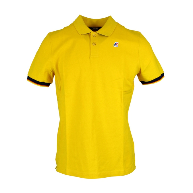 Polo Vincent Contrast Yellow K-Way