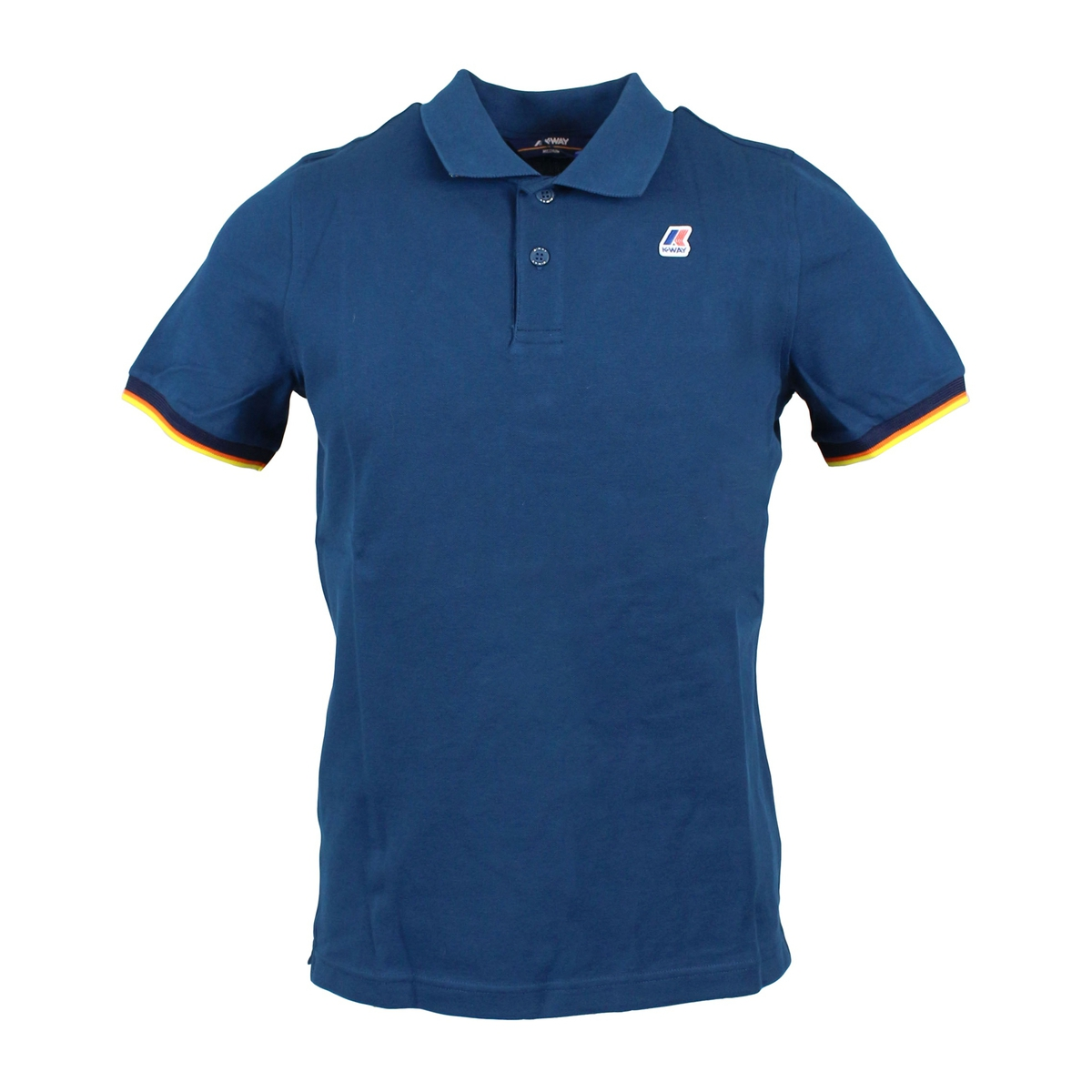 Polo Vincent Contrast Teal K-Way