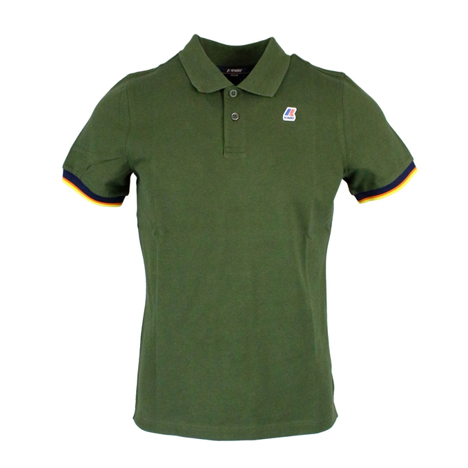 Polo Vincent Contrast Green K-Way