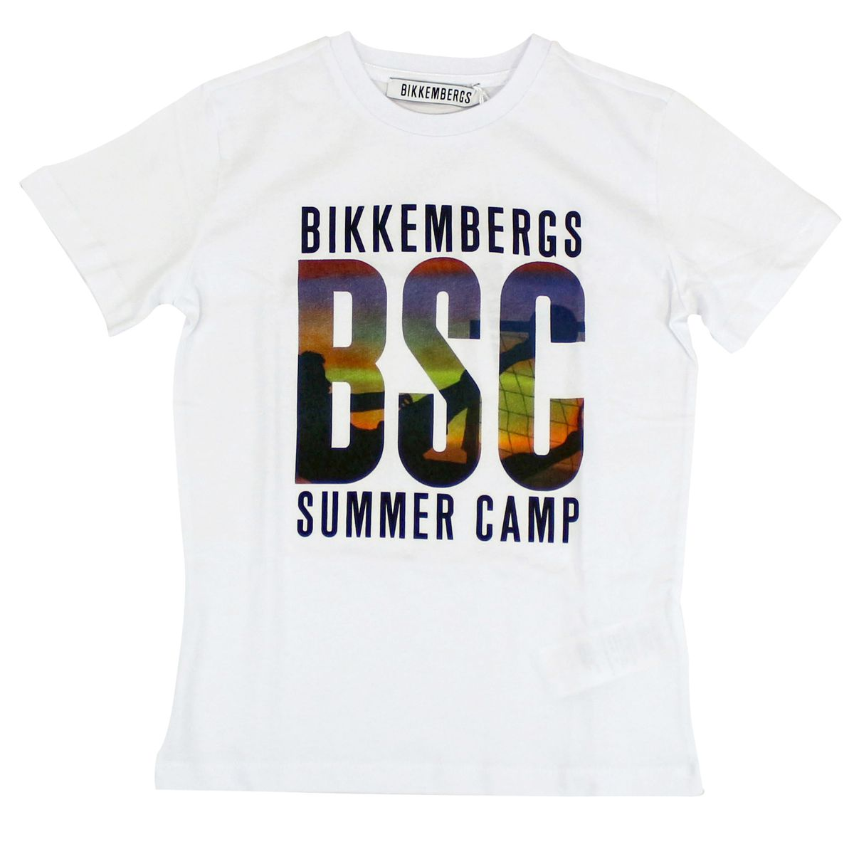 T-shirt with print White Bikkembergs