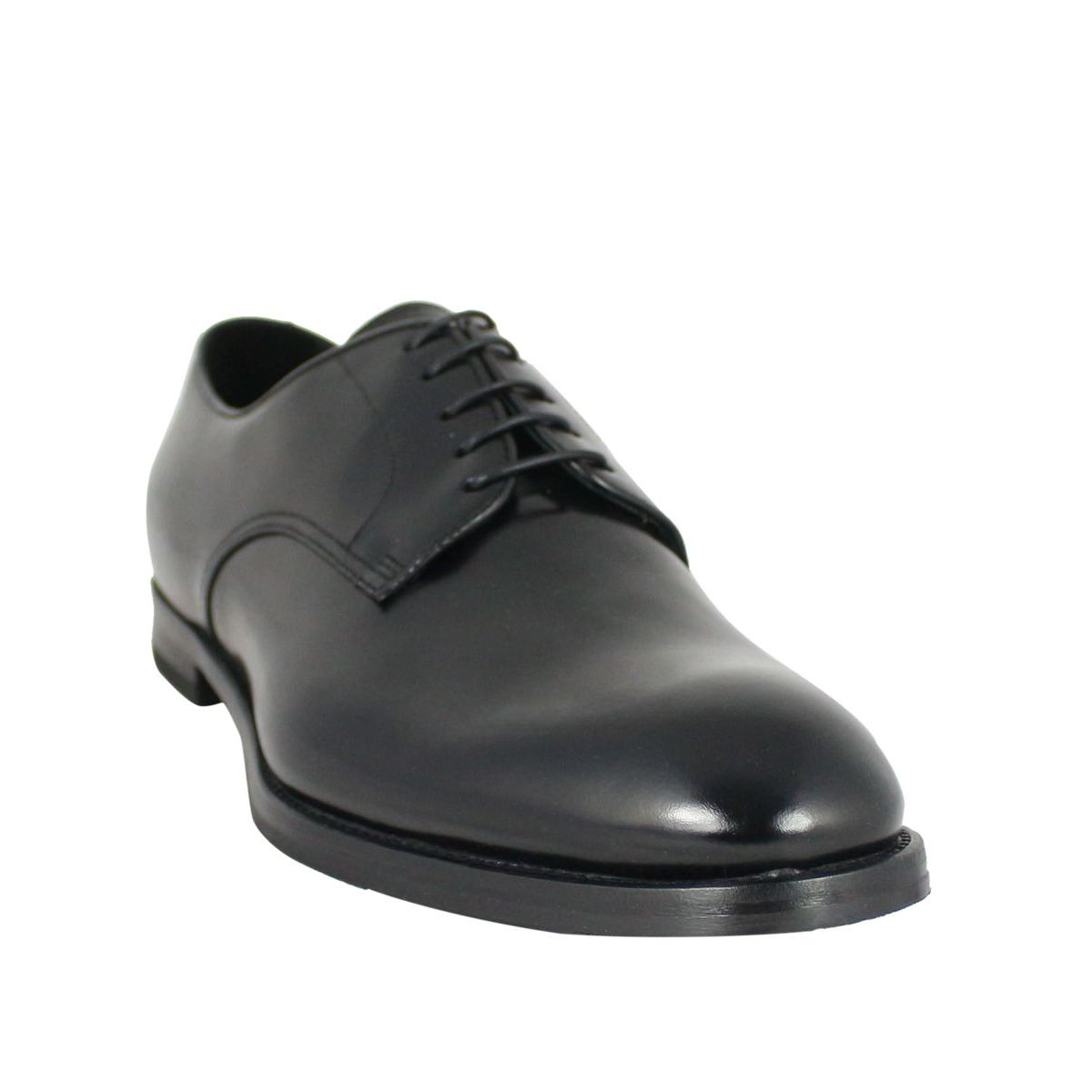Leather derby Black Doucal's