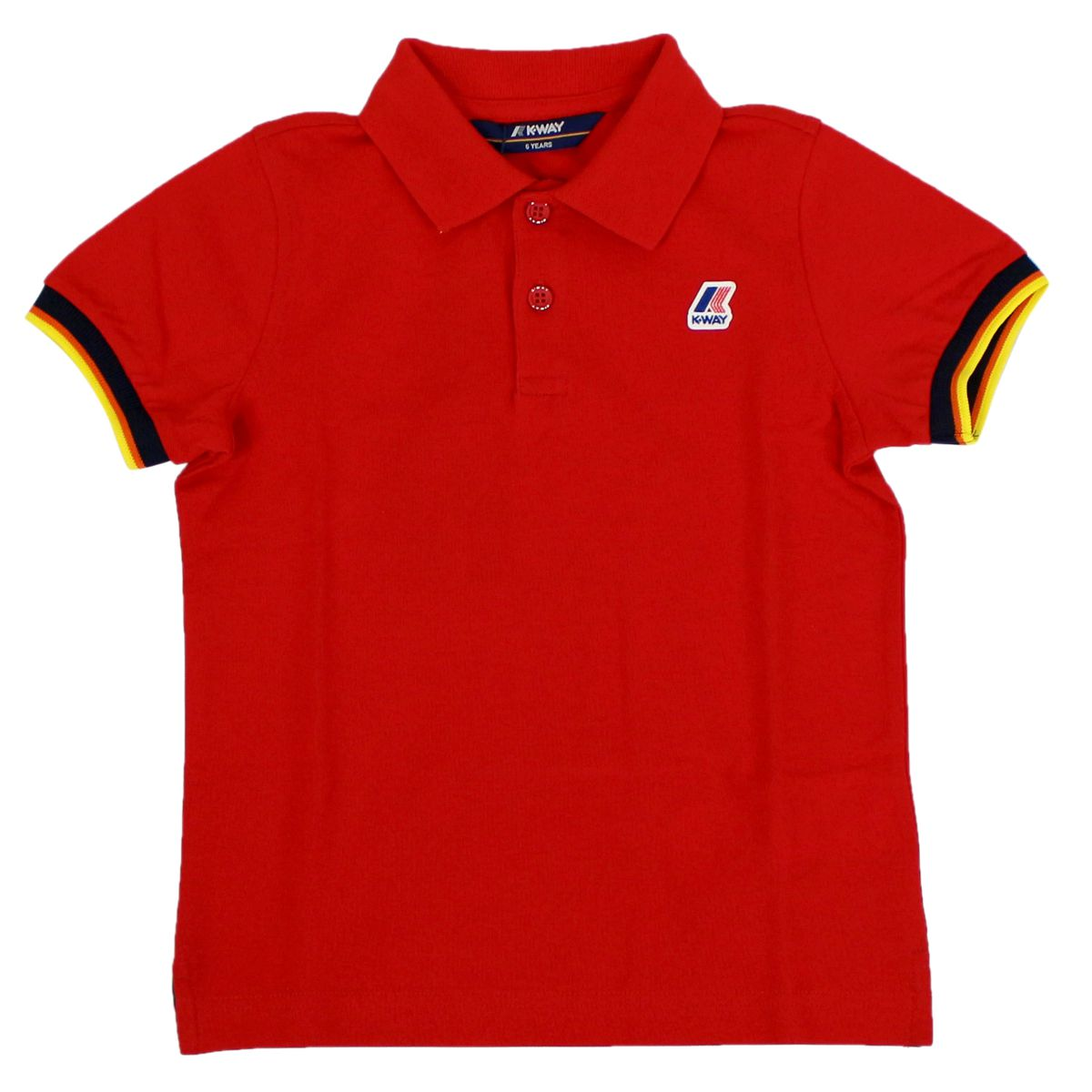 Polo Vincent contrast Red K-Way