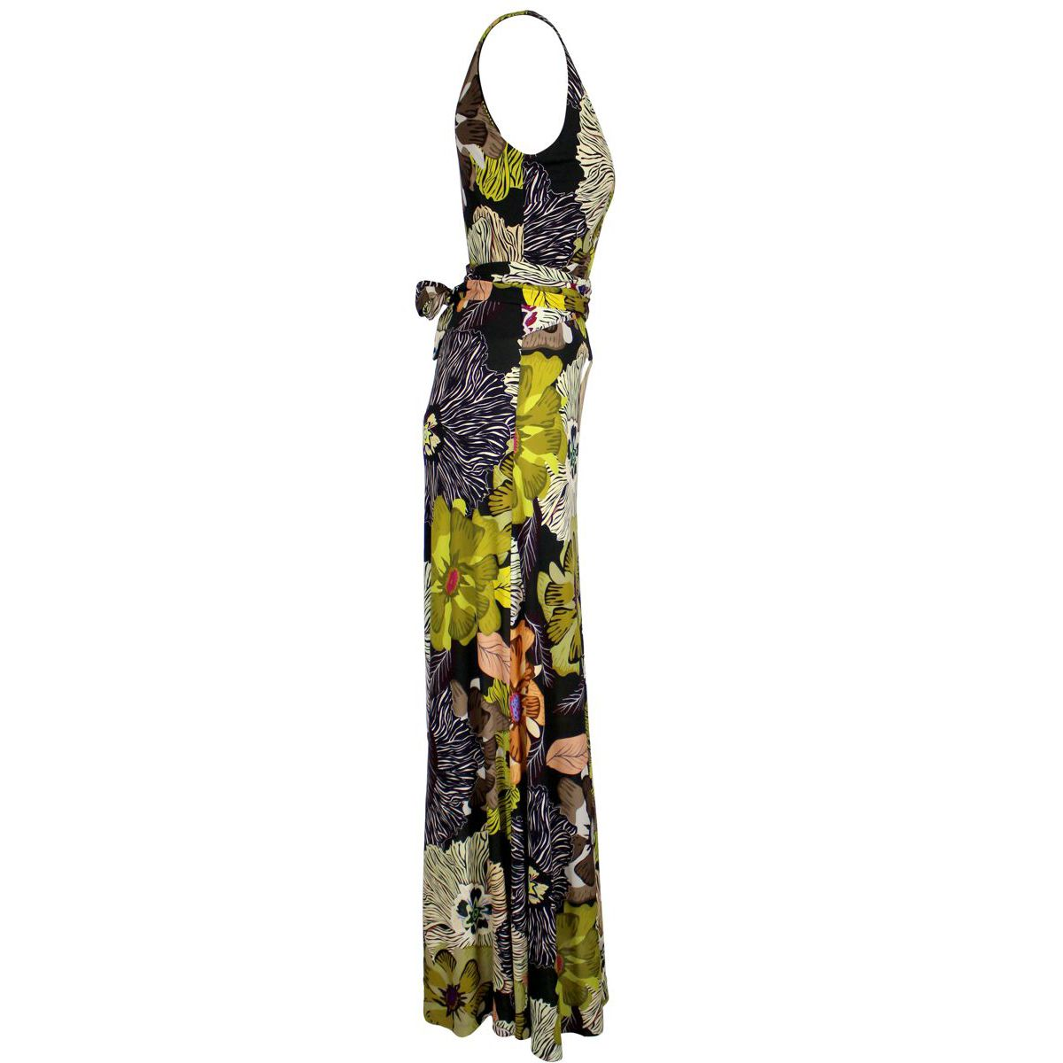 Long dress with multicolor print Fantasy Etro