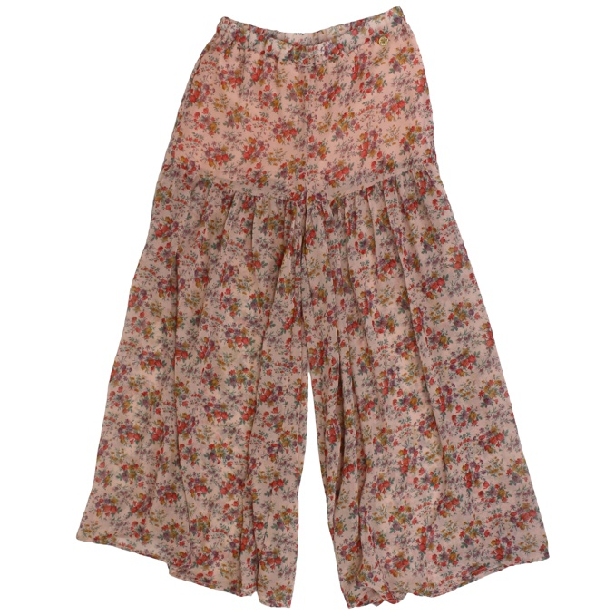 Trouser skirt with floral print Rose Twin-Set