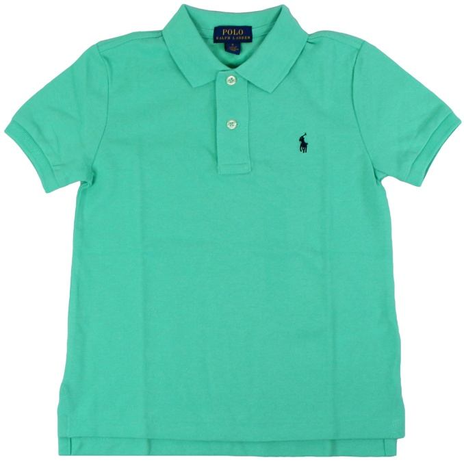 Cotton polo shirt with short sleeves Green water Polo Ralph Lauren