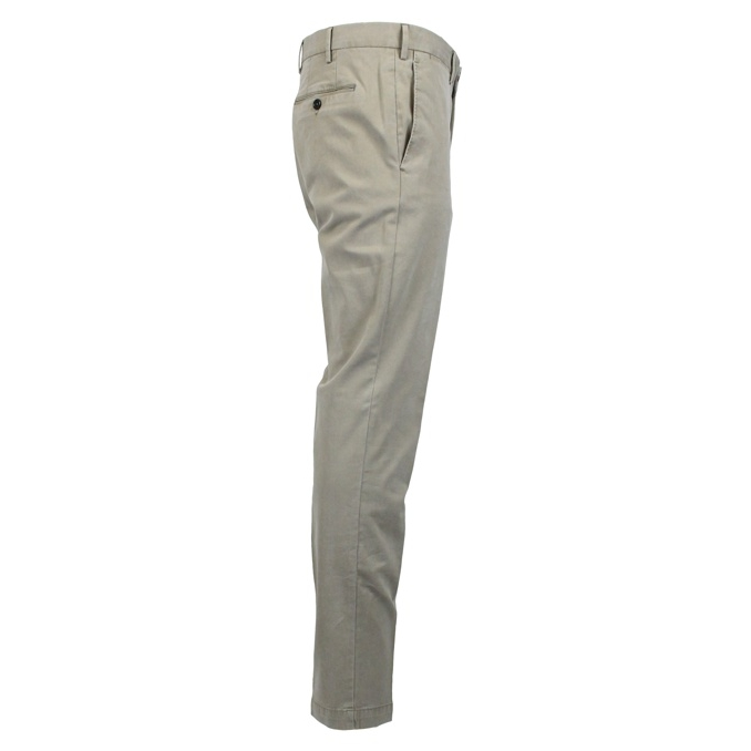 Skinny pants in stretch cotton Beige PT