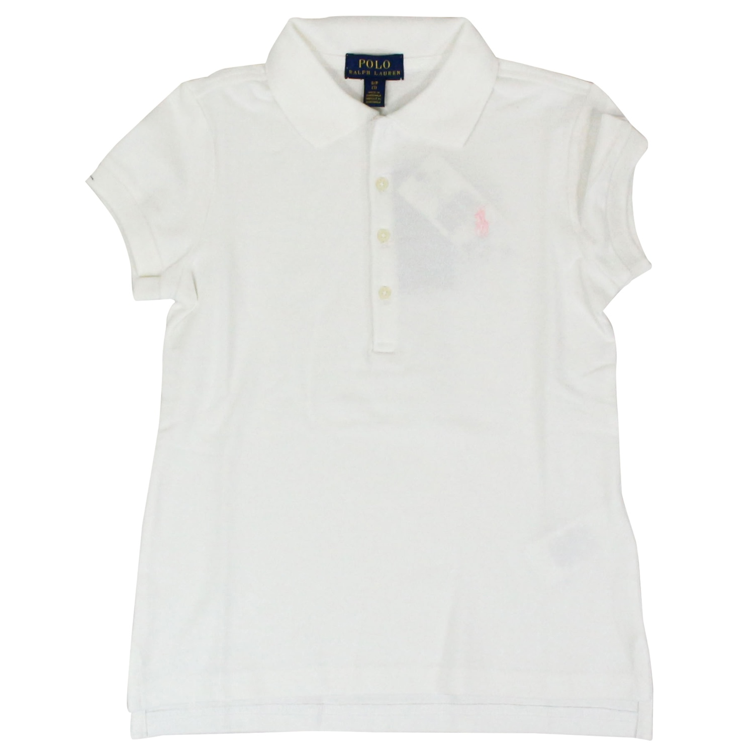 release date: a497c cf713 Stretch cotton polo shirt with logo