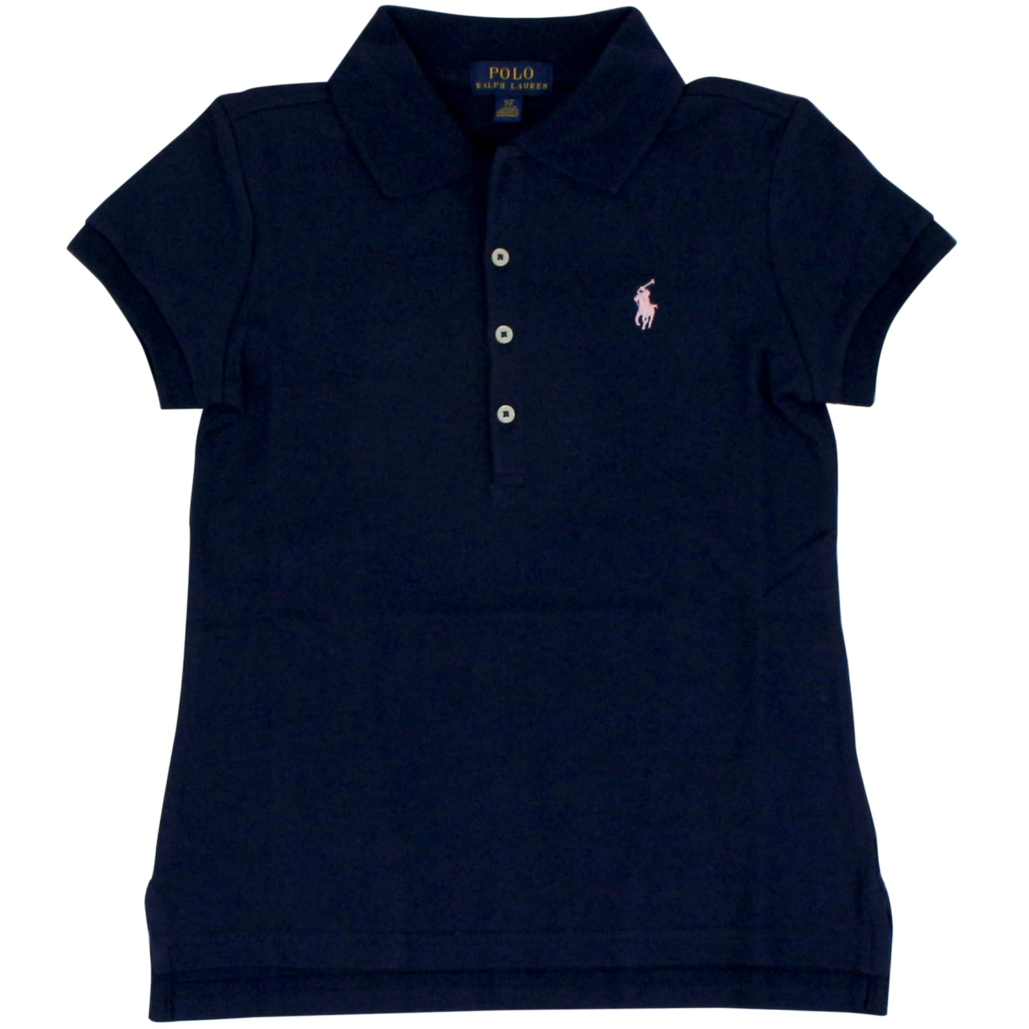 timeless design b96dc 11059 Polo in cotone stretch con logo