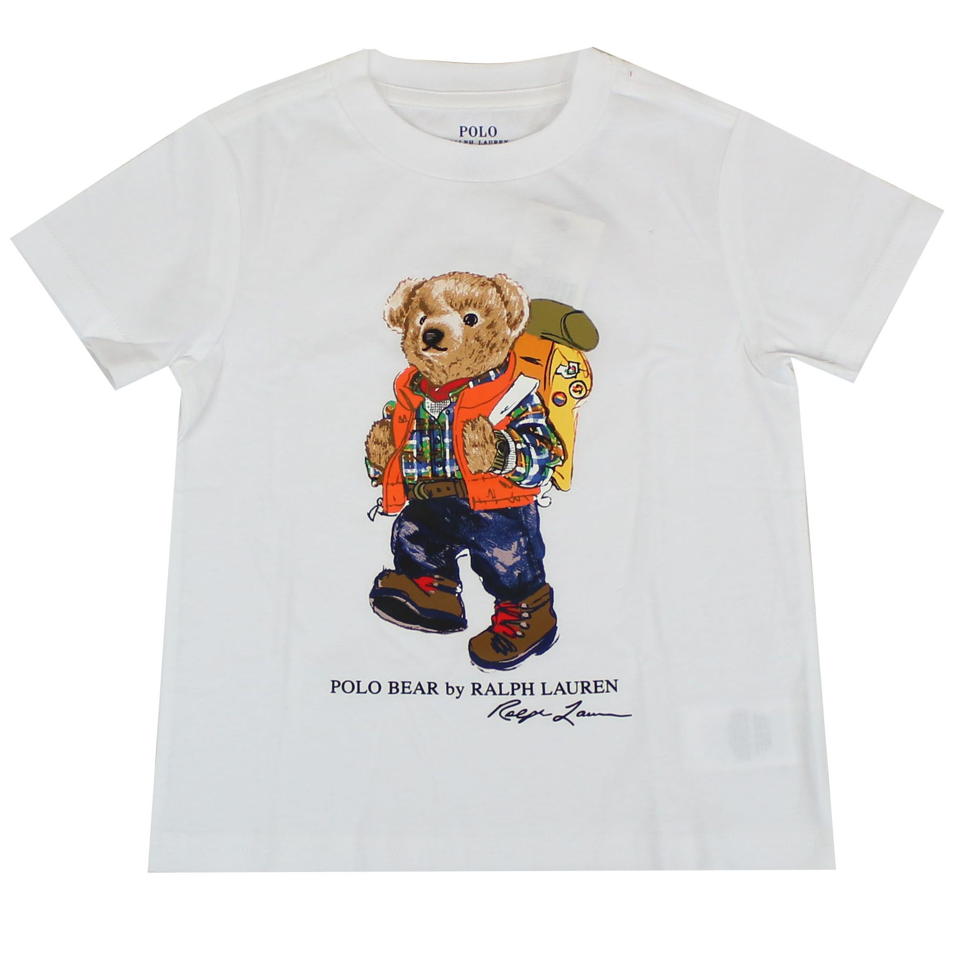 the latest fb291 8a629 T-shirt stampa orso trekking