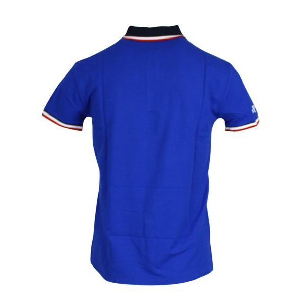 Slim-fit polo shirt in cotton with contrasting collar Sapphire Polo Ralph Lauren