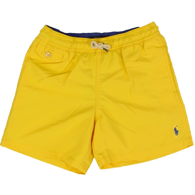 Boxer with logo embroidery Yellow Polo Ralph Lauren